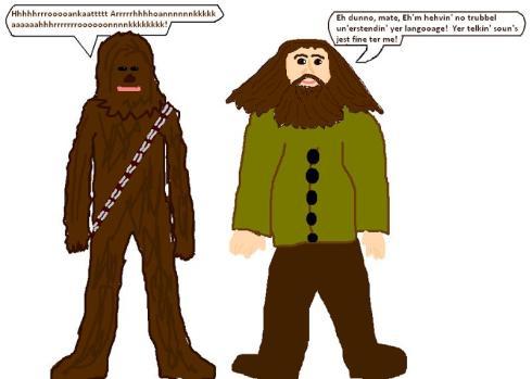 hagrid & chewbacca 4
